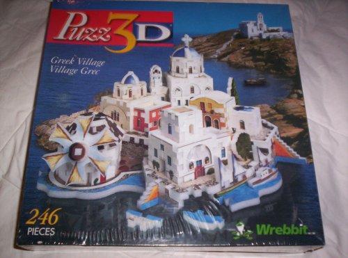 Cheap Wrebbit Puzz3D Greek Village (B001LXRE36)
