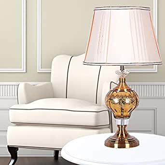 Crf Crystal Glass Table Lamp Living Room Bedroom Study Lamp