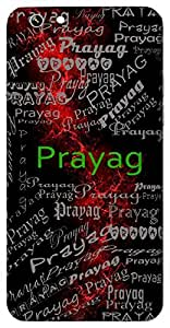 Prayag (Confluence Of Ganga-Jamuna-Saraswati) Name & Sign Printed All over customize & Personalized!! Protective back cover for your Smart Phone : Samsung Galaxy S5mini / G800