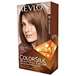 Revlon ColorSilk Permanent Color, Light Golden Brown 54