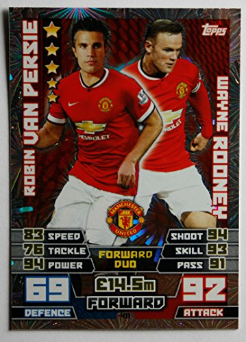 match-attax-2014-2015-duo-card-van-persie-rooney-number-411