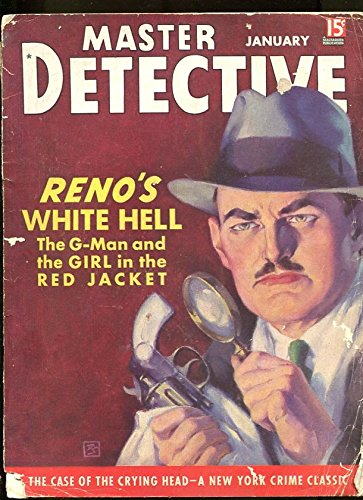 MASTER DETECTIVE-01/1938-G MAN-NUDE-MURDER-CRYING HEAD-LINE UP G