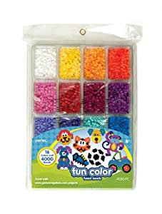 Perler Fused Beads Tray, Fun Color
