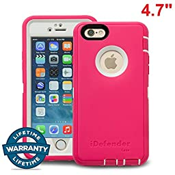 iPhone 6/6S Case, MCCC iDefender Heavy Duty Shockproof Series Case for iPhone 6/6S (4.7\