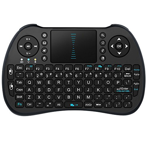 SEGURO-24G-mini-i8-fili-touchpad-multi-touch-tastiera-e-mouse-per-PC-PAD-Xbox-360-PS3-Google-Android-TV-Box-Nero