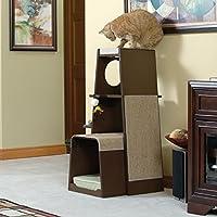 Sauder Woodworking Modular Modern Cat Tower