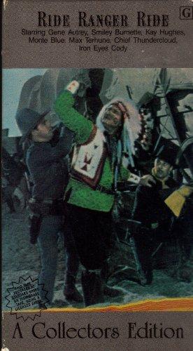 Ride Ranger Ride [VHS]