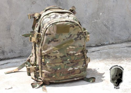 AIRSOFT MOLLE RIG MULTICAM MTP TACTICAL A3 DAY PAINTBALL BACK PACK RUCKSACK @ HELMET WORLD