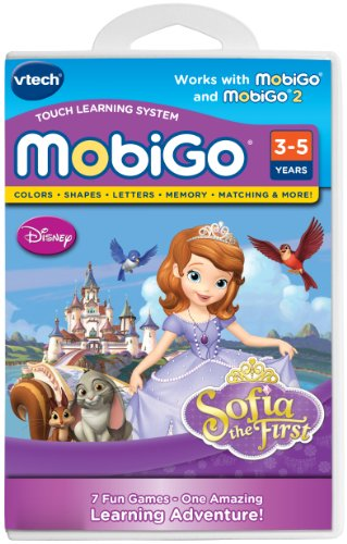 VTech MobiGo Software Cartridge - Disney Sofia the First (Mobigo compare prices)