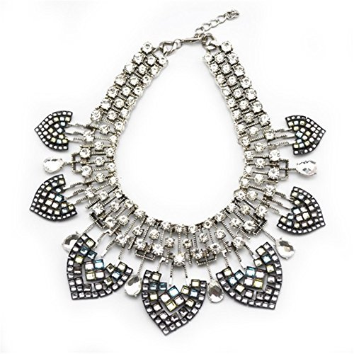 twopages-vintage-trendy-antique-silver-metal-statement-necklace-jewelry-gift-for-women