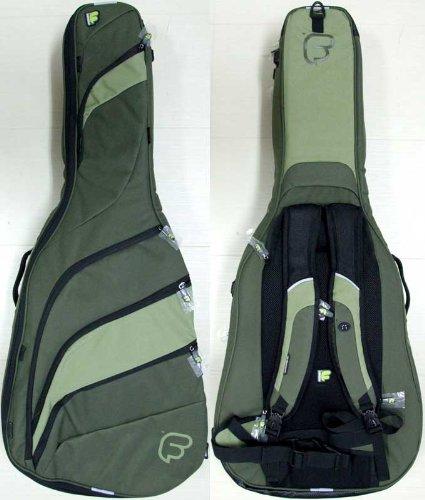 Fusion F2-08GDG Dreadnought Guitar Bag - Light Green/Dark Green