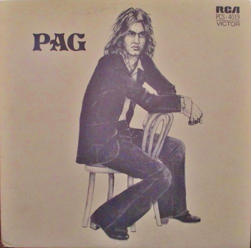 Michel Pagliaro PAG (French Rock) Original RCA Records Stereo release PCS 4019 1970's French Pop Vinyl (1972)