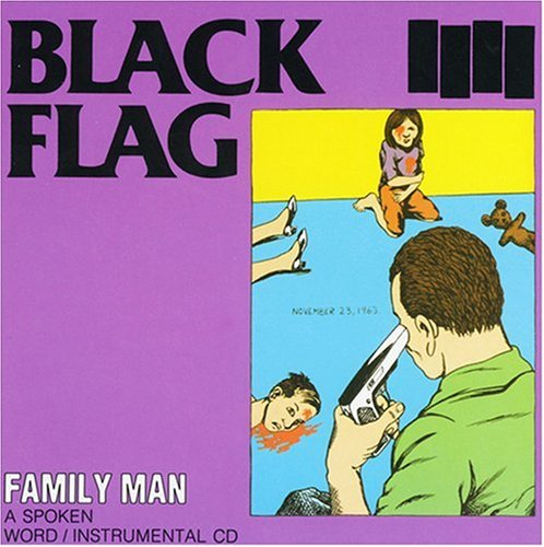 BLACK FLAG - FAMILY MAN - LP