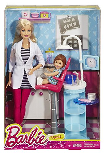 Barbie - Muñeca, quiero ser dentista (Mattel DHB64)