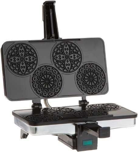 Review CucinaPro 220-03 Piccolo Pizzelle Baker