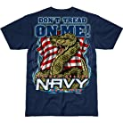 Battlespace Men's T-Shirt USN 'Don't Tread On Me'