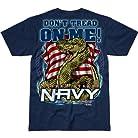 USN 'Don't Tread On Me' Battlespace Men's T Shirt