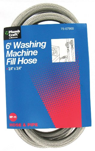 Plumb Craft 7507900 6-Foot Washing Machine Fill Hose front-590253