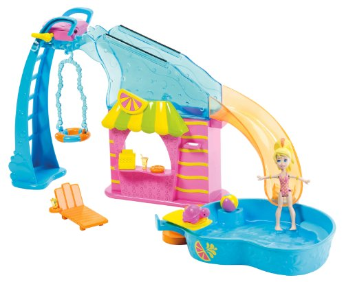 Polly Pocket Flip 'N Swim Pool Playset Amazon.com