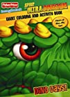 Fisher Price Spike the Ultra Dinosaur Giant Coloring and Activity Book Dino Days