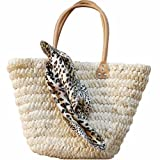 Simplism & Stylish Shoulder/Hand Straw Bag, Cornhusk Tote Bagby NicyNicy