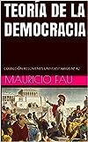 TEORÍA DE LA DEMOCRACIA: COLECCIÓN RESÚMENES UNIVERSITARIOS Nº 42 (Spanish Edition)