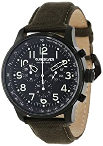 382c53201f265 Quiksilver Men s EQYWA00007 ARM Seafire Oversized Canvas Watch Watches