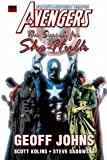 Geoff Johns Avengers: The Search For She-Hulk Premiere HC