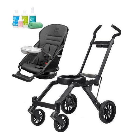 Orbit Baby G3 Basic Stroller - Seat And Frame With Spa Kit Black front-297975