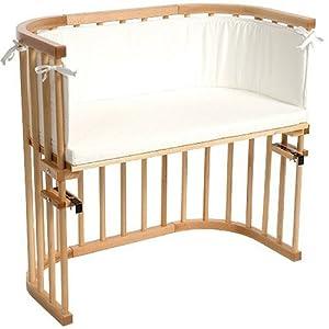 Babybay 105101  Lettino agganciabile al letto, verniciatura naturale, con materasso e paracolpi, colore Bianco  Prima infanzia recensioni dei clienti Valutazione