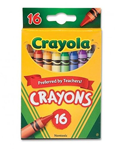Crayola 52-3016 16 Count Original Crayons (Pack of 4) - 1