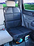 Cheekie Monkie Super Seat Saver Mat, Auto Seat Protector (Seat Cover) with Extra strength Non-slip Backing and Sturdy Foam Pads Fits Most Vehicles