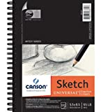 """Canson Universal Sketch Paper Pad 5.5 x 8.5 """": 100 Sheets"""