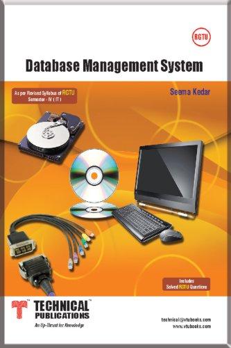 DATABASE MANAGEMENT SYSTEM, by SEEMA KEDAR