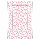 Linens Limited Stars Changing Mat PinkWhite