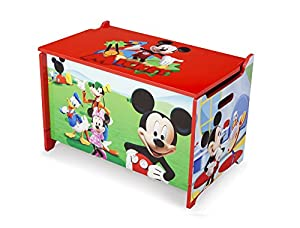 Wooden Mickey Mouse Toy Box