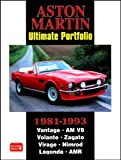 R. M. Clarke Aston Martin Ultimate Portfolio 1981-1993 (Brooklands Books Road Test Series): A Collection of Articles Covering Models Vantage, AM V8, Volante, Zagato, Virage, Nimrod, Lagonda, and AMR
