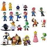 Triline 24 pcs Nintendo Super Mario Bros Action Figure