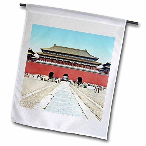 Boehm Photography Landscape - Forbidden City Meridian Gate Approach - 18 x 27 inch Garden Flag (Meridian City)