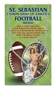 Amazon.com: Saint Sebastian, Patron Saint of Athletes