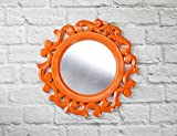 The Home Label Tangerine Victorian Mirror