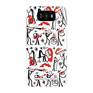 Garmor Designer Mobile Skin Sticker For Gionee G3 - Mobile Sticker