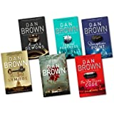 Dan Brown 6 Books Collection Set{(The Lost Symbol, Digital Fortress, Angel & ...