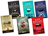 Dan Brown 6 Books Collection Set{(The Lost Symbol, Digital Fortress, Angel & Demons, -Deception Point, The Davinci Code, [Hardcover] Inferno)