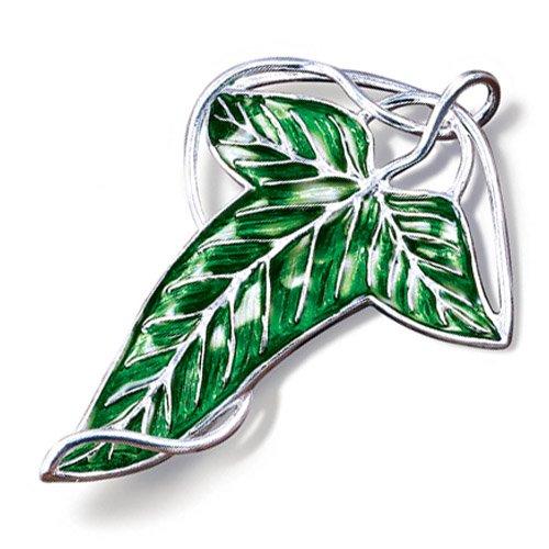 The Elven leaf brooch.