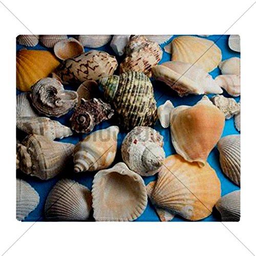 Seashell Throw Blanket front-1029938
