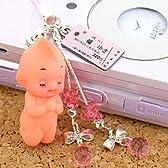 StrapyaNext (キューピー)北海道限定!幸福切符に祈りを込めて幸福キューピーストラップ(ピンク)