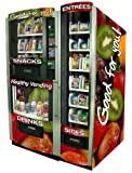 RS800/850/870 Healthy Combo Entre'e Vending Machine w/ Credit Card Reader