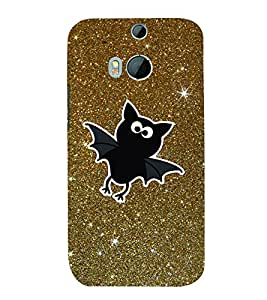 Bat Stars 3D Hard Polycarbonate Designer Back Case Cover for HTC One M8 :: HTC M8 :: HTC One M 8
