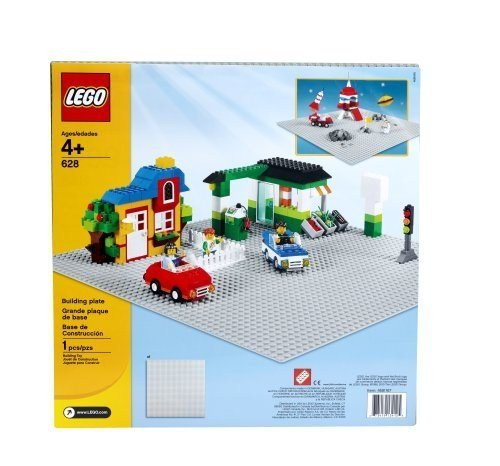 LEGO Bricks & More Building Plate 628 (Lego Building Plate White compare prices)